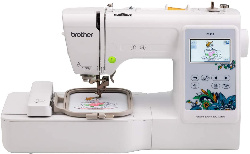 Image of embroidery machine