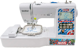 Image of brother computerized embroidery and sewing machine