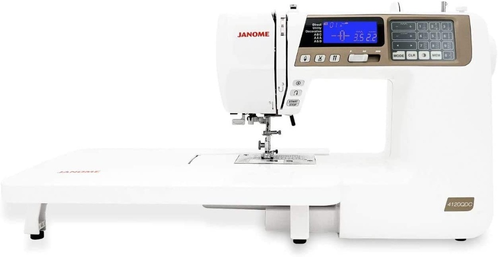 Image of _Janome 4120QDC, the Best Computerized Janome Sewing Machine