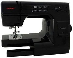 Image of Janome HD 3000 BE, how does it fare in Janome HD 3000 vs. HD 3000BE?
