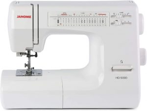 Image of Janome HD 5000, the best in the Janome HD 3000 vs HD 5000 comparison