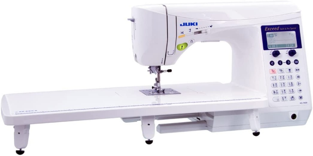 Image of Juki HZL. the The Best Longarm Quilting Machine for Home UseImage of Juki HZL-F600, the Best Sewing Machine for Canvas and Denim