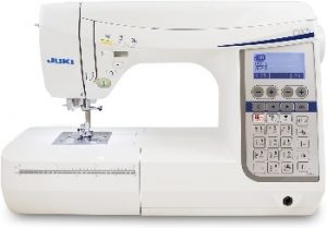 Sewing machine for wedding dresses