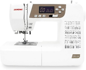 Image of a quilting machine by janome
