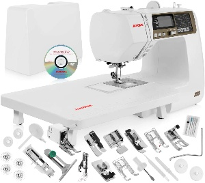 Image of janome sewing machine for quilting