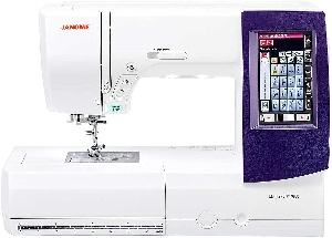Image of an embroidery machine
