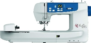 A compurized embroidery machine for beginners