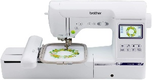 Image of brother, the best computerized embroidery machine