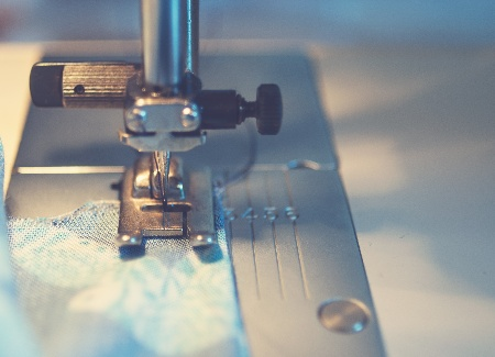 Image of sewing and quilting machine