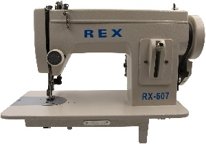 Rex sewing machine for leather and canvas