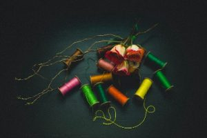 Image of sewing threads