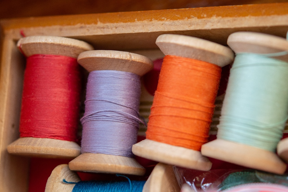 Image of sewing threads but Can You Use Thick Thread in Sewing Machine?