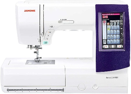 Image of Janome sewing and quilting machine