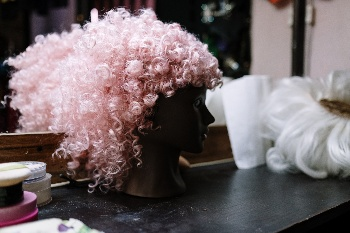Image of wig created with the Best Sewing Machine for Making Wigs