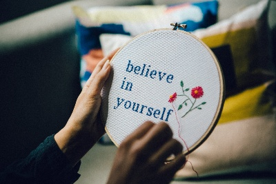 Image of a cross stitch but What Is Full Coverage Cross Stitch?