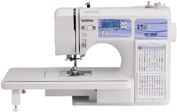 Image of a quilting Machine but How Do You Hide The Knot When Quilting?