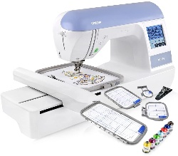 Image of Brother PE770, the best computerized embroidery machine for monogramming