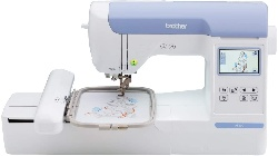 Image of Brother PE800 computerized embroidery machine
