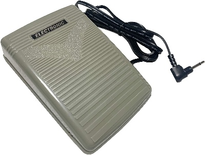 Image of foot pedal so Can You Use a Sewing Machine Without a Foot Pedal?